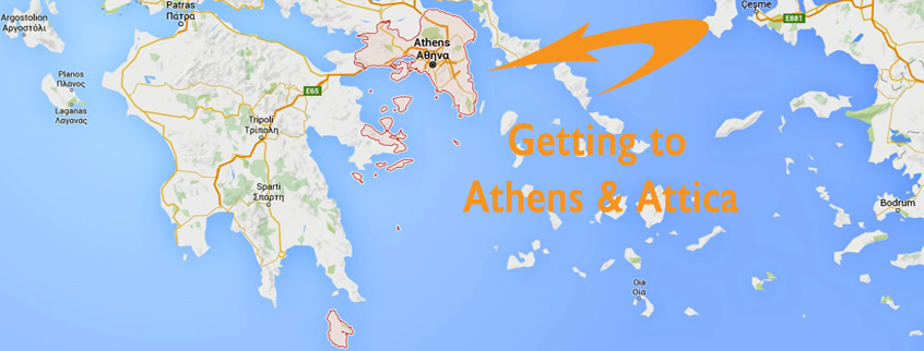 Getting to Athens & Attica