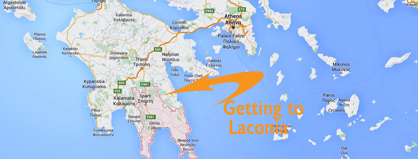 Getting to Monemvasia and Laconia