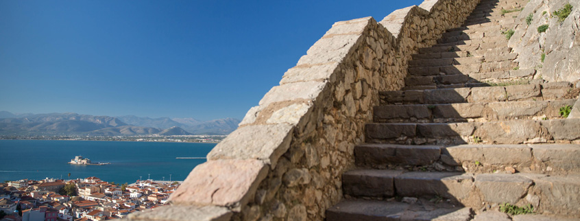 Palamidi-Castle-of-Nafplio-999-steps-Peloponnese-Greece