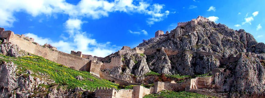 The-acrocorinth-castle-of-Corinth-in-Peloponnese-of-Greece-2
