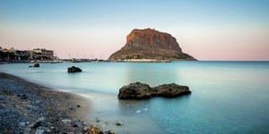 The-castle-of-Monemvasia