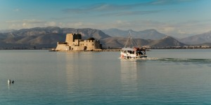 The-fortress-of-Bourtzi-in-Nafplio