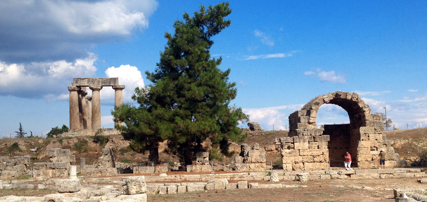 Ancient-Corinth-of-Peloponnese-in-Greece-2