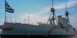Floating-Naval-Museum-Battleship-Averof