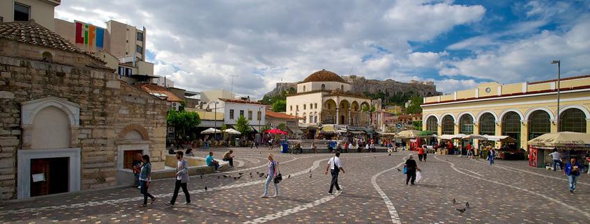 Monastiraki-Flea-Market-of-Athens-in-Greece-1