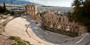 Odeon-of-Herodes-Atticu-in-Athens-Greece