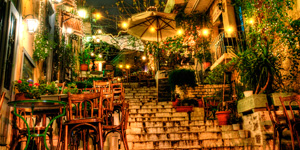 Plaka-area-of-Athens-in-Greece