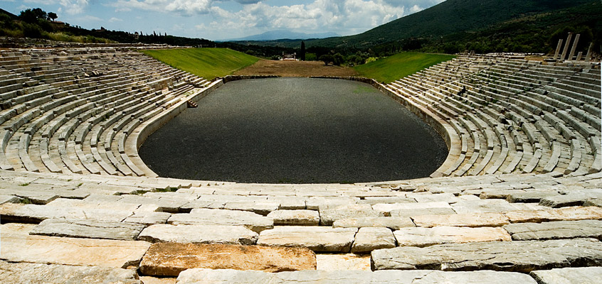 Ancient-Messini-Stadium-of-Messinia-in-Peloponnese-of-Greece