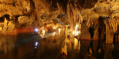 Private tour to Diros Cave from Kalamata