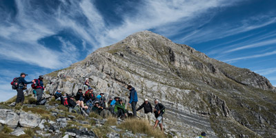 Hiking in Taygetus mountain of Peloponnese