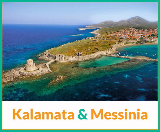 Kalamata and Mesinia