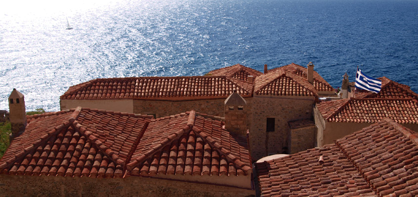 Monemvasia-Castle-in-Laconia-of-Peloponnese-in-Greece-2