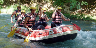 Rafting in Arcadia from Nafplio