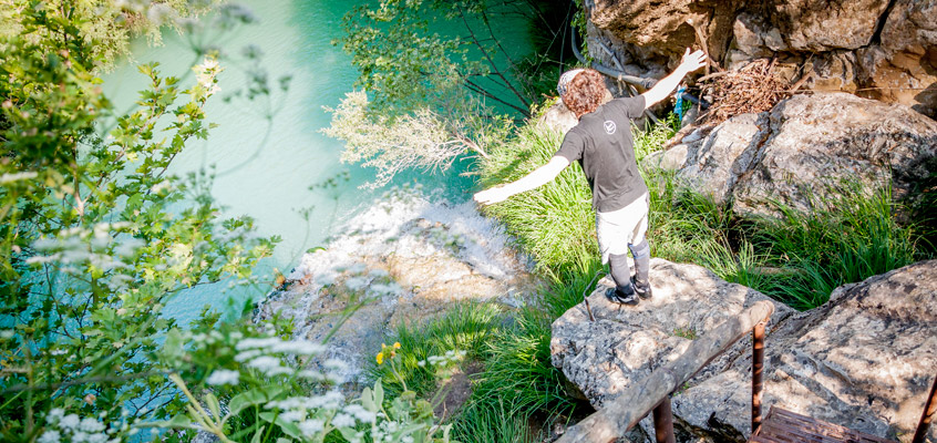 River-hiking-in-Polilimnio-of-Kalamata-in-Peloponnese-of-Greece-2