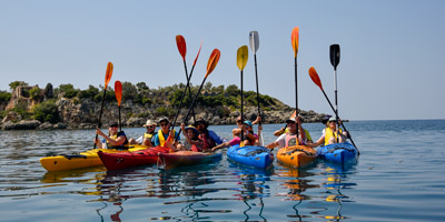 Sea Kayaking in Kardamili or Stoupa of Mani