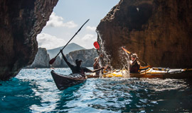 Sea-kayak-in-Pylos-of-Messinia-in-Peloponnese-of-Greece-270