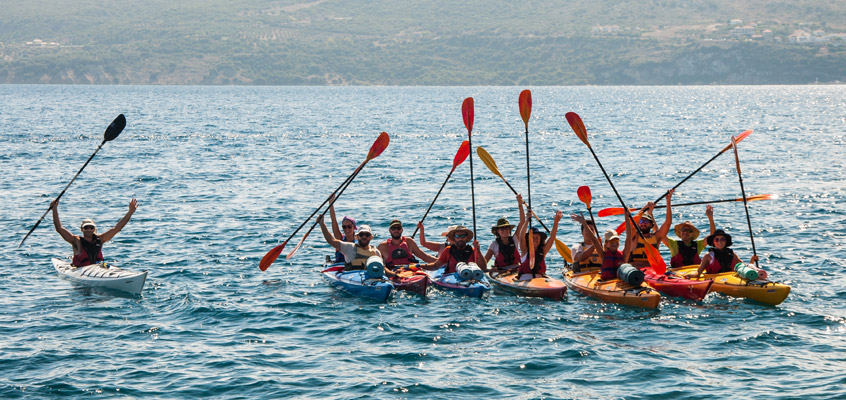 Sea-kayak-in-Pylos-of-Messinia-in-Peloponnese-of-Greece-3