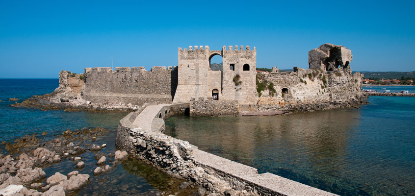 The-castle-of-Methoni-of-Messinia-in-Peloponnese-of-Greece-1