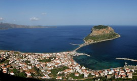 Monemvasia-castle-of-Peloponnese-in-Greece-1