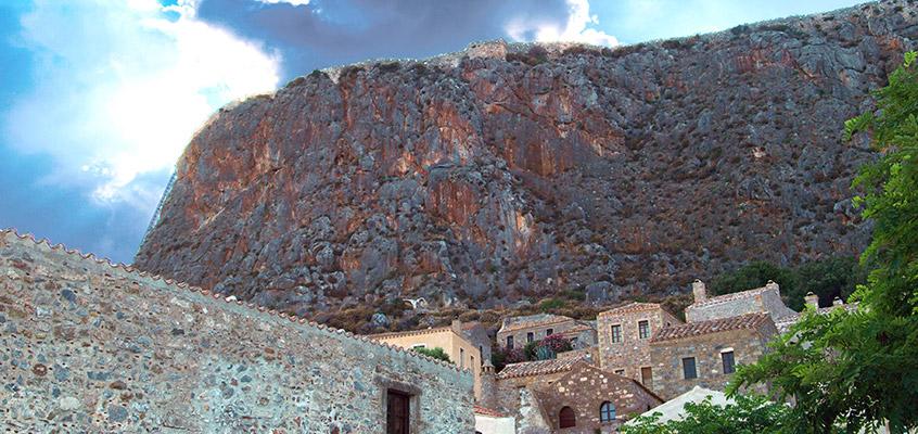 Monemvasia-castle-of-Peloponnese-in-Greece-2