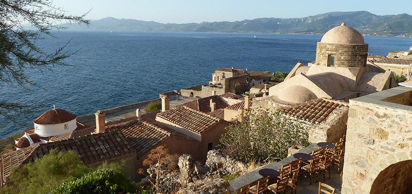 Monemvasia-castle-of-Peloponnese-in-Greece-3